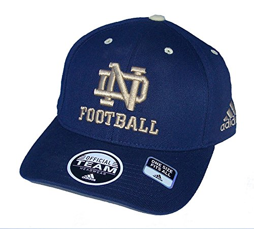 Adidas Notre Dame Fighting Irish Flex Fit One Size Hat NCAA Cap - Best Fits 7 Through 7 1/2
