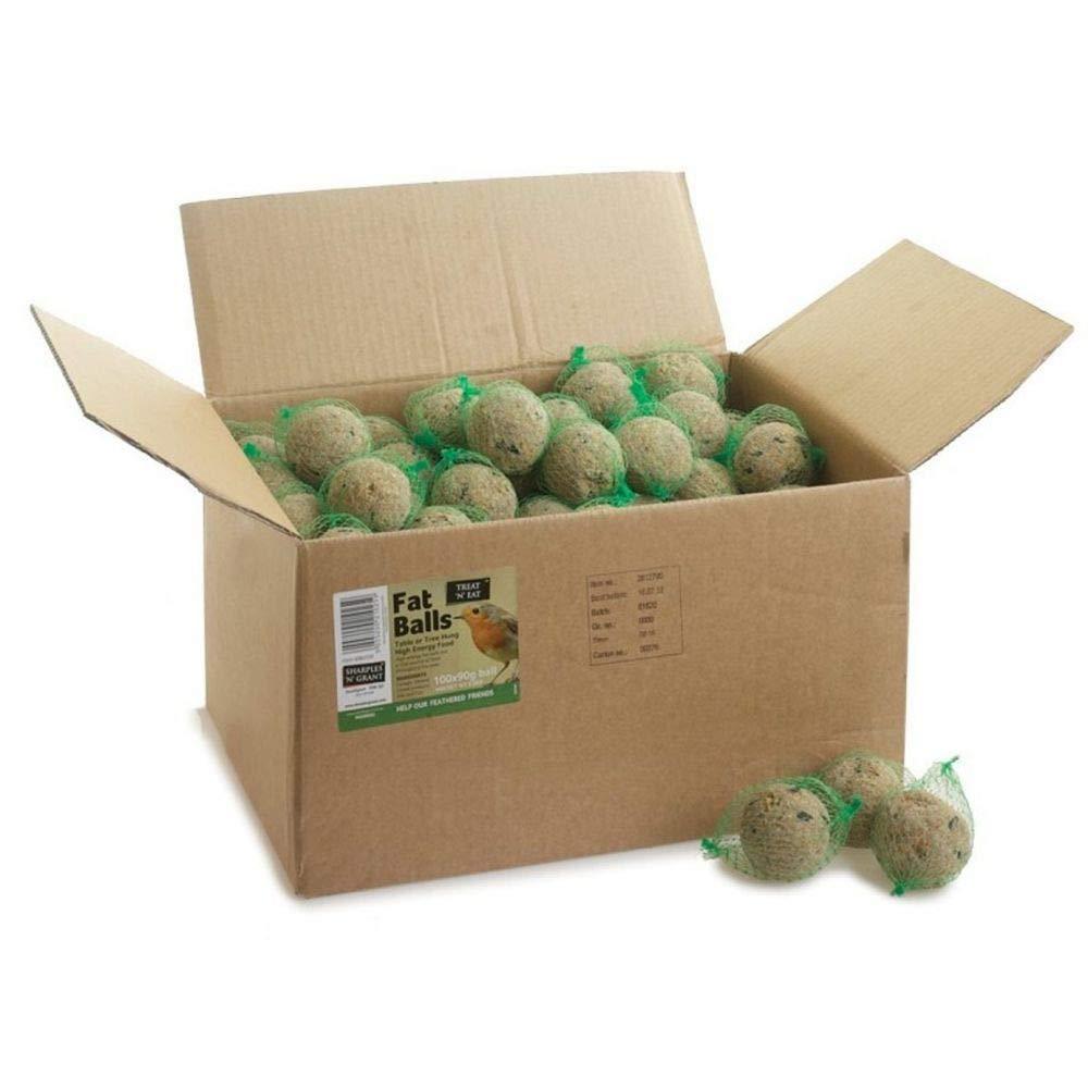 Fat Balls for Wild Birds Box of 100 Sharples & Grant