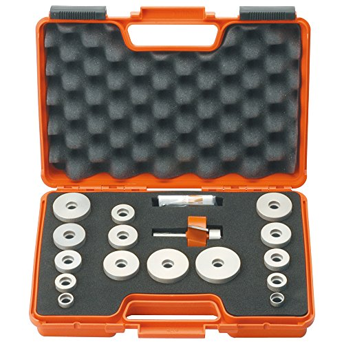 CMT 835.503.11 CMT Grand Rabbet Set in Carrying Case, 1/2-Inch Shank, Carbide-Tipped ()