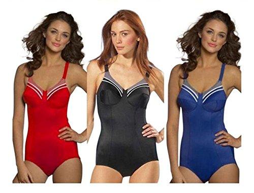 Triumph Women's Doreen O Supportive Non Wired Swimsuit 44 G Blue