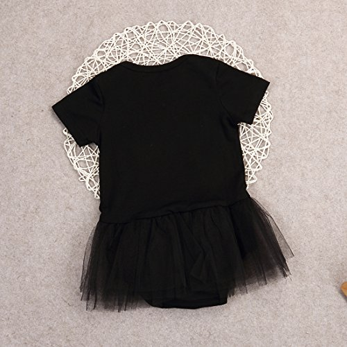 1a9e9c2e0017 Newborn Baby Girls Queen Bodysuit Tutu Skirt Romper Jumpsuit Playsuit  Clothes