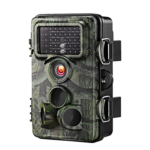VicTsing Trail Camera, 0.2s Trigger Time 2.4'' LCD, 12MP 1080P, Night Vision Game&Hunting Camera,Low...