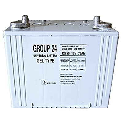 Group 24 Gel Type Battery Replacement for Metris P7101