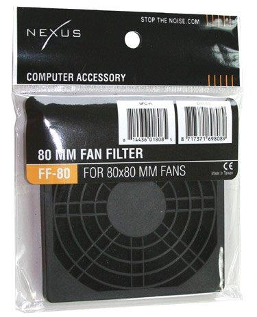 - Nexus 80mm Fan Filter