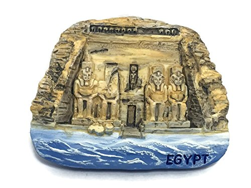 - THE GREAT TEMPLE ABU SIMBEL EGYPT 3D Resin TOY Fridge Magnet