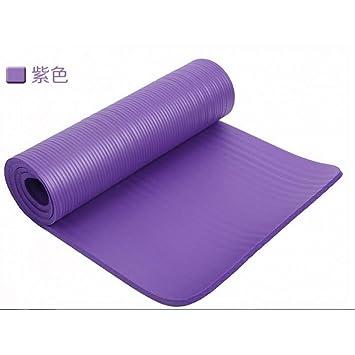 HYTGFR 10Mm Extra Thick 183Cmx61Cm Colchonetas de Yoga ...