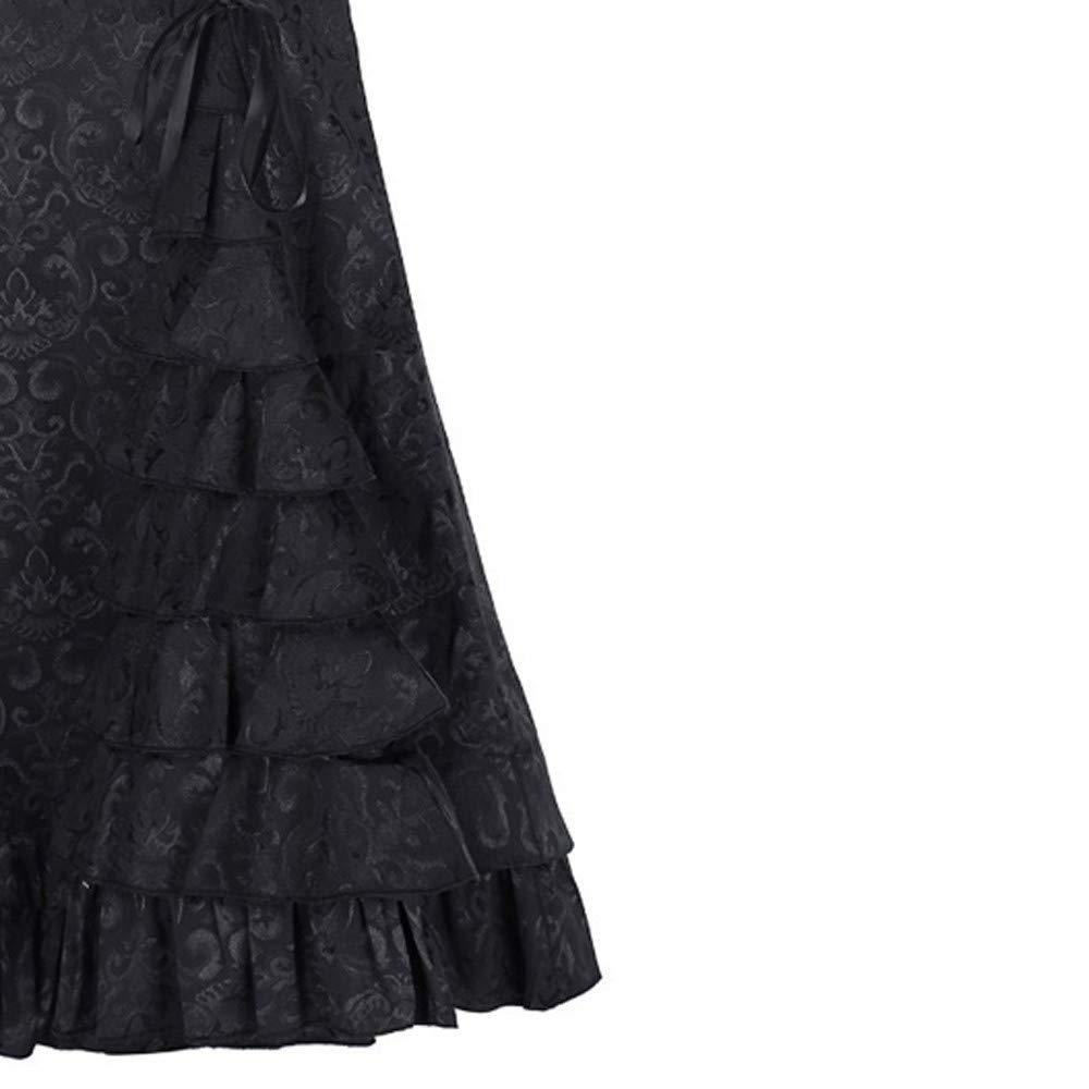Rcool Falda Corta Faldas Faldas Mujer Invierno Faldas largas Falda Flamenca Mujer, Falda de Cola de pez Retro de Sirena Larga de Bodycon con Volantes: ...