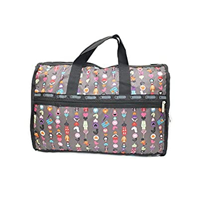 41b1812a59ba LeadSports Doll Patterns on Travel Duffle Bag. Messenger and Handle ...