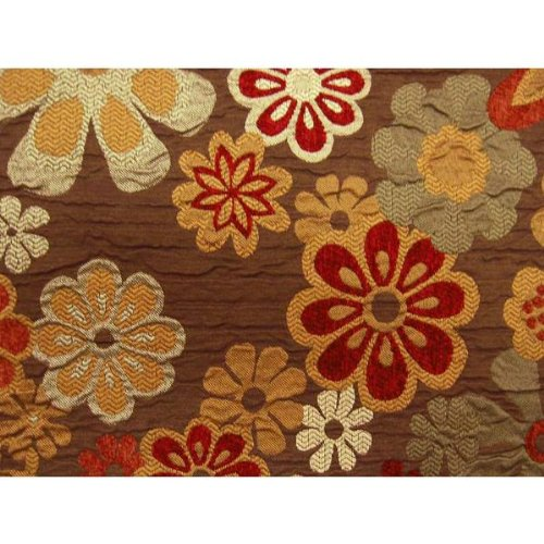 Benihana Futon Cover Full Size, Proudly Made in USA (Flower Petals, Colorful Print, Hawaiian Theme) by DCG Stores