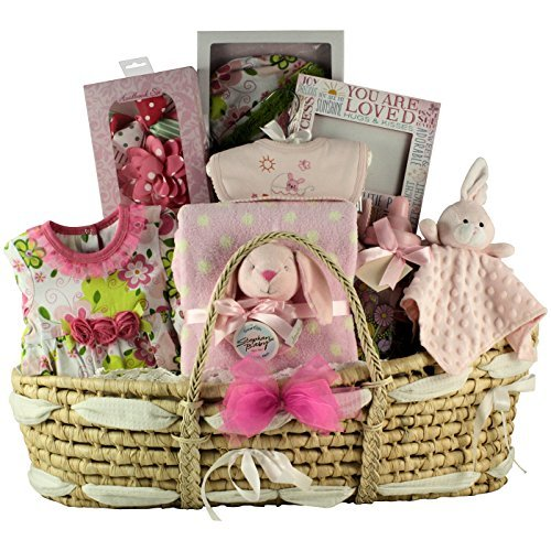 GreatArrivals Gift Baskets Best Wishes Baby, Girl