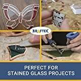 Copper Foil Tape (1/4inch X 36yards) with Conductive Adhesive - Stained Glass, Soldering, Electrical Repairs, Grounding, EMI Shielding - Extra Long Value Pack at A Great Price - NOW 39% Thicker Foil