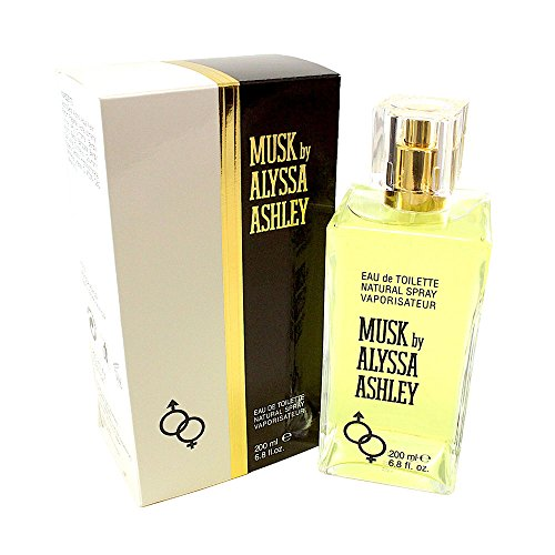 Alyssa Ashley Musk Eau de Toilette Spray for Women, 6.8 Ounce