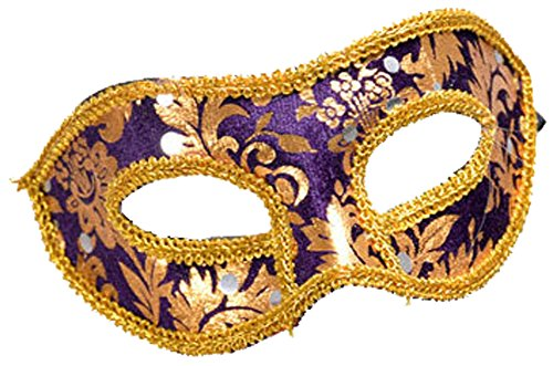 Men's Masquerade Christmas Halloween Ball Party Half Face Masks (Male Prostitute Costume)