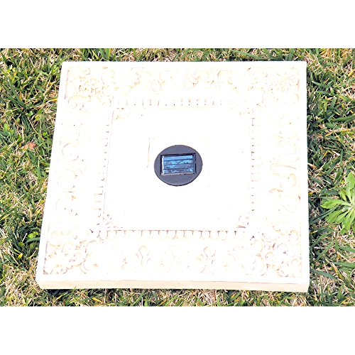 Solar Lighted Stepping Stones