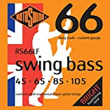 Rotosound RS66LF Swing Bass 66 Stainless Steel Bass Guitar Strings (45 65 85 105)
