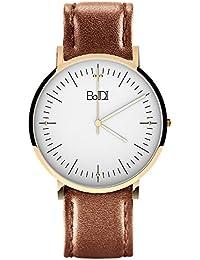 Womens Watches Women Wrist Watch Waterproof Analog Watch Quartz Watch Ladies Wrist Watch with Second Hand Brown...