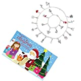 """Advent Calendar Set """"Kid's Theme"""" 22 Charms with 1 Bracelet and 1 Necklace"""