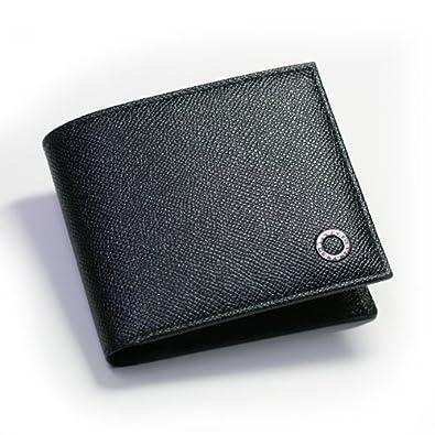 772d991ed64d ブルガリ BVLGARI 二つ折り 財布 グレインレザー メンズ ブラック 30396 【並行輸入品】