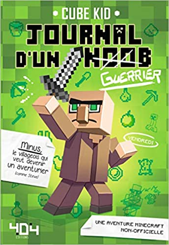 Journal D Un Noob Guerrier Minecraft 1 Amazon Fr