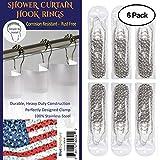 Blue Signature Shower Curtain Hooks Parent (6)