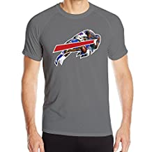 Namii Buffalo Bill Men Essential Short Sleeved Athletic Fit T-shirt
