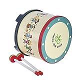 best seller today ammoon 8 Inch Wooden Floor Drum...
