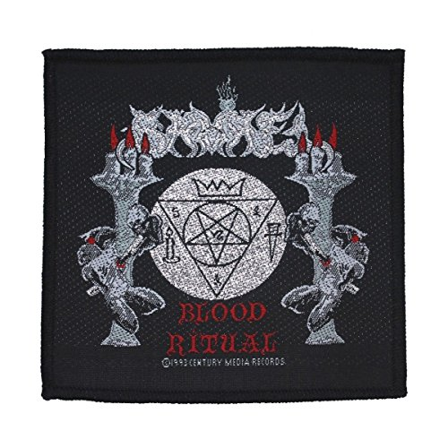 Samael Blood Ritual Band Art Metal Music Merchandise Sew On Applique Patch by Mia_you