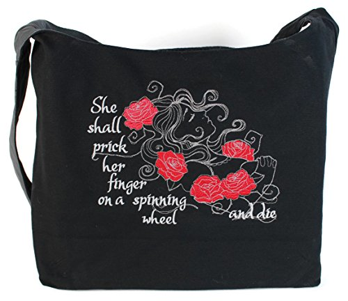 Dancing Participle Sleeping Beauty Embroidered Sling -