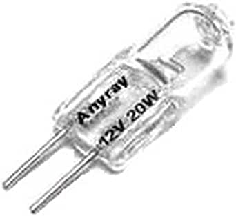 Anyray 10 Bulbs Pack 20 Watt G4 Base Jc Type Halogen Light Bulbs 12v 20w Amazon Com