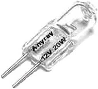 Anyray 10 Bulbs Pack 20 Watt G4 Base Jc Type Halogen Light Bulbs 12v 20w Amazon Com