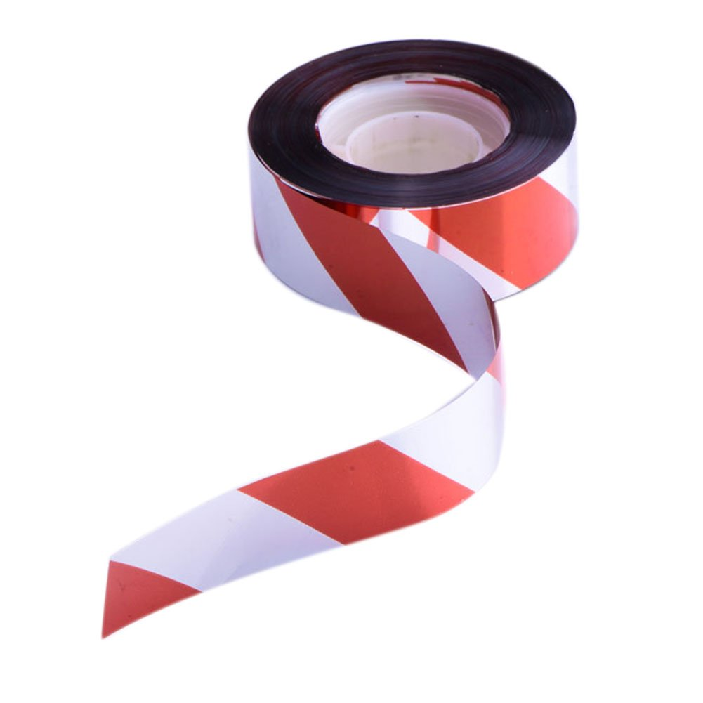 1xToruiwa Bird Repellent Scare Tape Bird Deterrent Defenders Repeller Ribbons for Keeping Away From Pigeons Seagulls Garden Tool