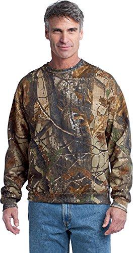 Russell Outdoors Men's Realtree Crewneck Sweatshirt, 2XL, Realtree