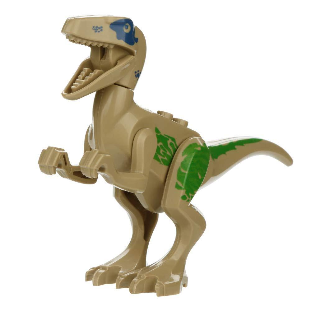 Wenini Dinosaur Toys, Mini Dinosaur DIY Building Blocks Action Figures Playset Party Favors Toys Kids Boys Toddler Educational Gifts (G❤️) by Wenini (Image #1)