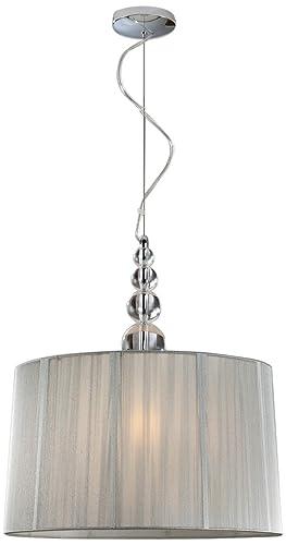 Schuller 663554 Mercury - Lámpara de techo (220 V) color transparente