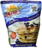 Carbon's Golden Malted Pancake & Waffle Flour Mix, Blueberry, 32-Ounces