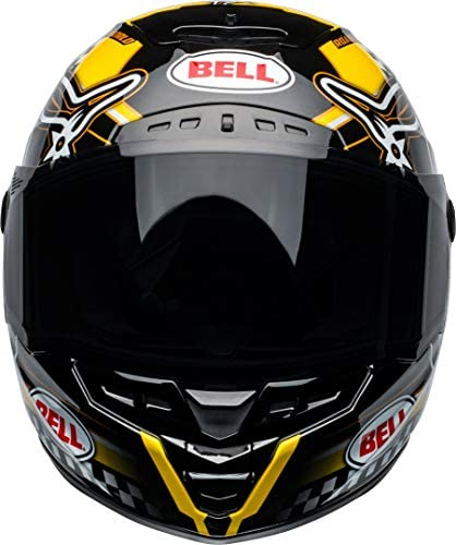 Bell Helmet Star Dlx Mips Isle Of Man Black Yellow L Auto