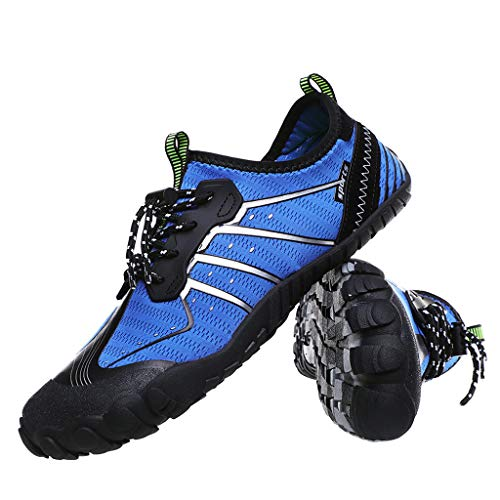HAPPIShare Mens Womens Water Shoes Aqua Shoes Swim Shoes Beach Sports Quick Dry Barefoot for Boating Fishing Diving -