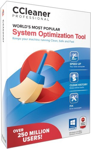 Piriform Ccleaner Professional 1 Pc   System Optimization Tool
