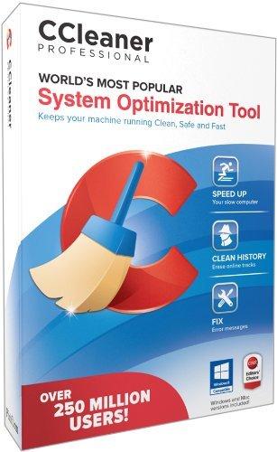 Piriform CCleaner Professional 1 PC - System Optimization Tool