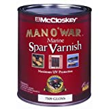 Valspar 080.0007507.005 McCloskey Man O'War Spar Marine Varnish