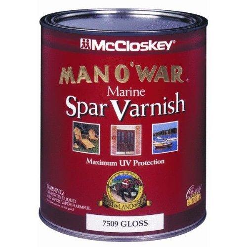 Valspar 080.0007507.005 McCloskey Man O'War Spar Marine Varn