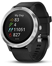 Garmin vívoactive 3, GPS Smartwatch with Contactless Payments and Builtin Sports Apps, Black/Silver