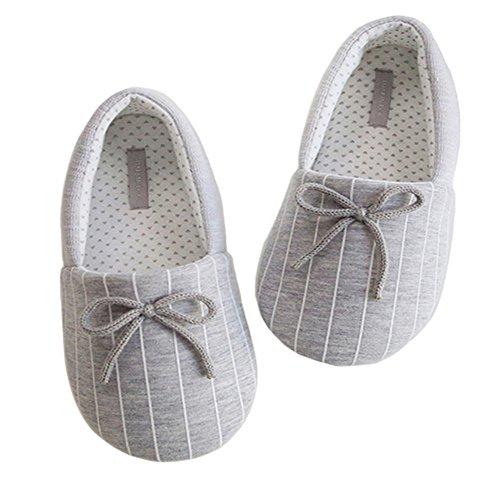 4552f4118 KEIK Women Comfortable Cotton Knit Anti-Slip House Slipper Slip-On Home  Shoes Winter Autumn - Buy Online in Oman.