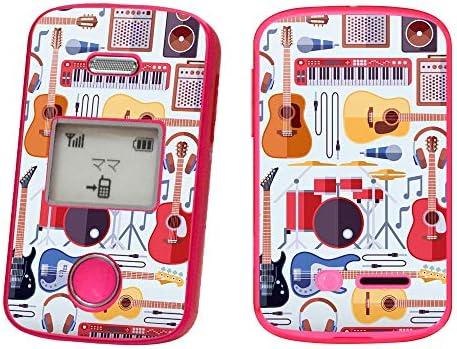 igsticker みまもりケータイ2 101Z 専用スキンシール SoftBank ソフトバンク ZTE 用 フィルム シール ステッカー 012037 ギター 音楽 かっこいい