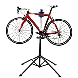 Flexzion-Bike-Repair-Stand-Rack-Foldable-Cycle-Bicycle-Workstand-Home-Pro-Mechanic-Maintenance-Tool-Adjustable-41-To-75-With-Telescopic-Arm-Clamp-Lightweight-and-Portable