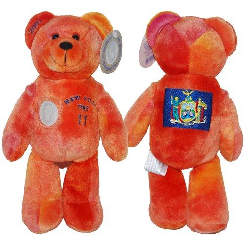 State Timeless Toys Quarter Bear - New York State Quarter Bear