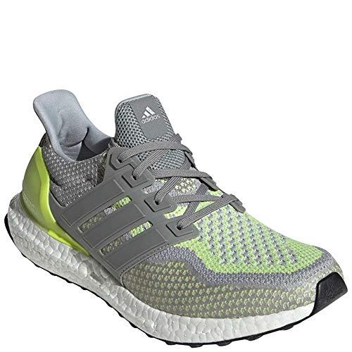 adidas Ultraboost ATR LTD Mens Shoes Charcoal Solid Grey/Solar Yellow bb4145 (9 M US)
