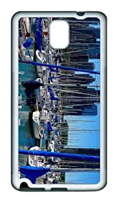 case retro Many Sailboats TPU White case/cover for samsung galaxy note 3 N9000