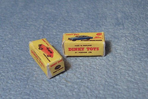 Dinky Toy Cars - Streets Ahead Dinky Car Boxes 1/12 Scale