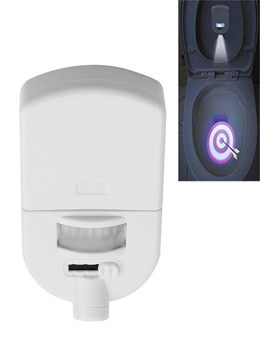 Barlingrock - Proyector de inodoro, 1 luz, luz nocturna, para usar ...